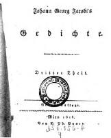 Dritter Theil (Deutscher Parnaß)