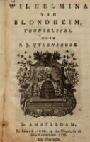 Wilhelmina van Blondheim ; Tooneelspel door P. J. Uylenbroek
