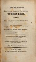 Lebens-Abriss Friedrich Ludwig Zacharias Werners ; Beilage zu der dritten Ausgabe der Söhne des Thal's