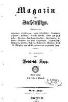Magazin für Lachlustige. Enthaltend: erheiternde Erzählungen ... (Jg. 3F.1843,2)