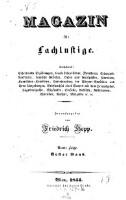 Magazin für Lachlustige. Enthaltend: erheiternde Erzählungen ... (Jg. 4F.1844,1)