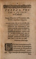 Brevis Enodatio L. Vnicæ, C. De Errore Calcvli