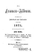 Ein Frauen-Album. Illustrirtes Jahrbuch mit Kalender (Jg. 1871)