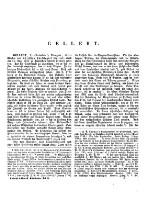 Erste Section A - G ; Gellert - Genezareth