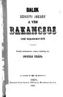 """Dalok """"A ven bakancsos"""" cimü nepszinmüveböl : zenejet szerkesztette, reszint eredetileg"""