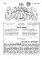 Obrazy zivota : Domaci illustrovana biblioteka zabavneho i pouceni cteni (Jg. 1862)