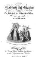 Wahrheit und Glaube : ein Gebetbuch für katholische Christen