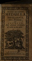 <<Guilielmi Amesii>> Medulla Theologica