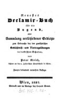 Neuestes Declamir Buch Für Die Jugend Oder Sammlung