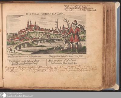 Fritslar ; Decorat Prudentia Cana / [Eberhard Kieser]