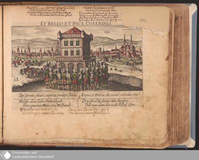 Fulda ; Et Bello Et Pace Colendus / [Eberhard Kieser]