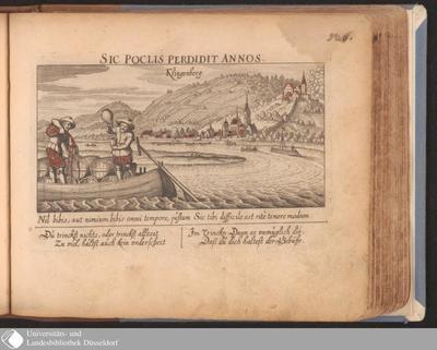 Klingenberg ; Sic Poclis Perdidit Annos / [Eberhard Kieser]