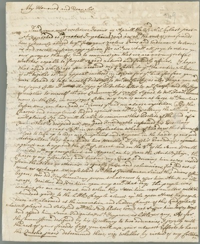 [Letter of Fr Felix Clery OFM to [Peter McCormick], Waterford, 24th April 1750.]
