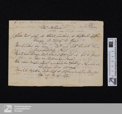An Diotima (Komm und siehe die Freude ...) - Cod.poet.et.phil.fol.106 : [StA 1,210/525]