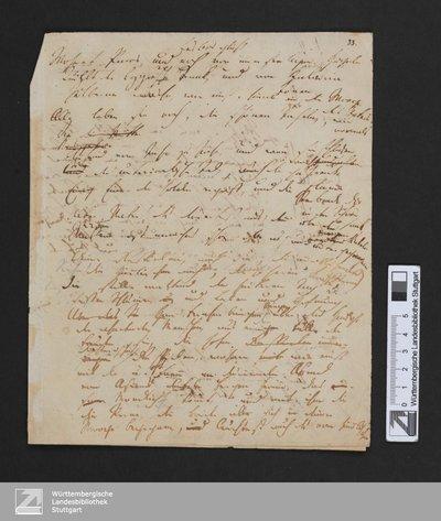 Der Archipelagus - Cod.poet.et.phil.fol.63,I,33 : [Ausz.]; Verse 14-32, 35-37, 41, 42, 98-124, 241-246, 278-280; [StA 2,103/632]