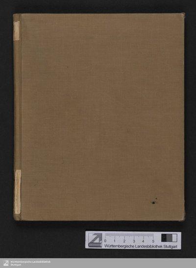 Homers Iliade - Cod.poet.et.phil.fol.63,I,41 : [Übersetzung]; [StA 5,1-30/335] / [Homerus] [Ilias, Ausz. <dt.>]