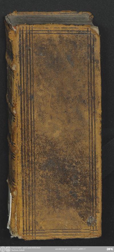 Utilissimo Tractato Della Patienza, Das ist, Ein schöner Tractat Von der Geduld : Sehr nützlich allen denen, welche verlangen Christlich zu leben
