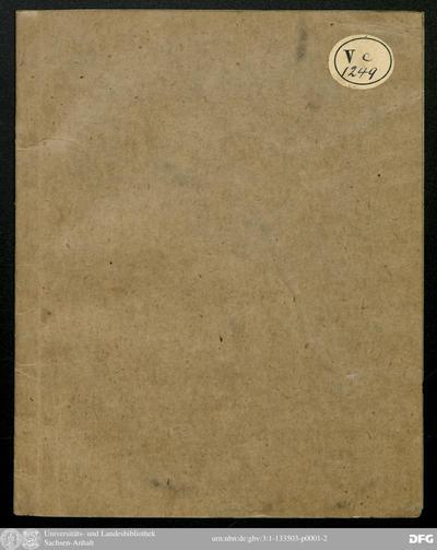 Daß die Durchleuchtigste Fürstin und Frau, Frau Friederike Karoline, vermälte Markgräfin zu Brandenburg, in Preußen Herzogin [et]c. geborne Herzogin zu Sachsen [et]c. am jüngst erschienenen 24. Jun des 1776. Christjahres...