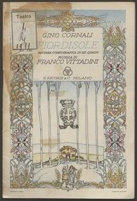 Fiordisole : fantasia coreografica in sei quadri / Gino Cornali ; musica di Franco Vittadini