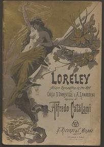 Loreley : azione romantica in tre atti / di Carlo D'Ormeville [e A. Zanardini] ; musica di A. Catalani