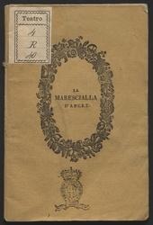 La marescialla d'Ancre : tragedia lirica in 2 atti da rappresentarsi nell'I. e R. Teatro degl'Intrepidi la primavera 1840 ... / [la poesia è del sig. G. Prati ; la musica del maestro sig. A. Nini]
