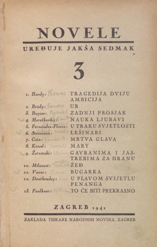 3 / [preveli Jakša Sedmak,... et al.].