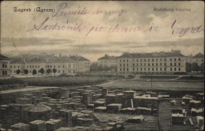 Zagreb Agram Rudolfova Vojarna