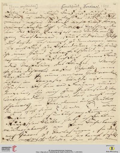 Brief von Achim von Arnim an Clemens Brentano - 1808