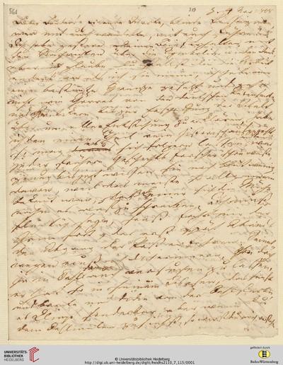 Brief von Achim von Arnim an Clemens Brentano - 1808-11-04