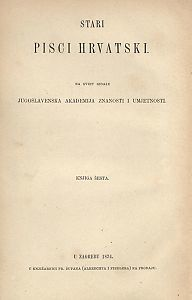 Stari pisci hrvatski : Pjesme Petra Hektorovića i Hanibala Lucića : 6