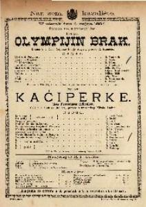 Olympijin brak; Kaćiperke