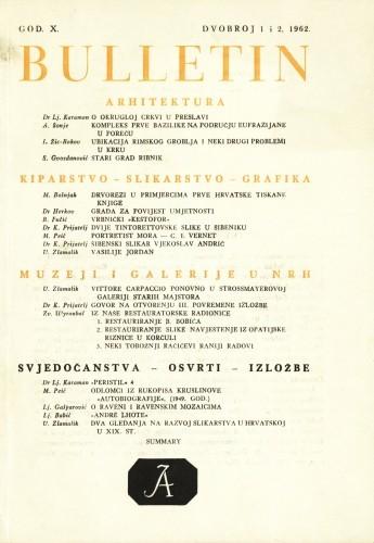 God. 10(1962), Br. 1-2