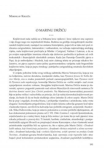 O Marinu Držiću