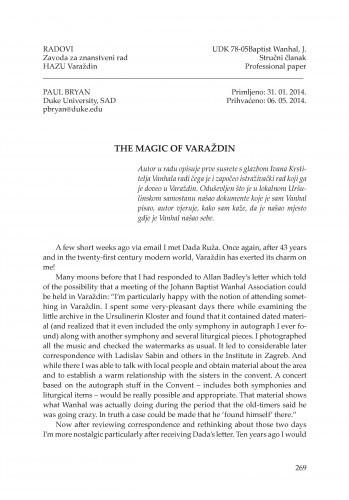 The magic of Varaždin