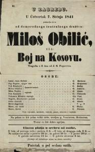 Miloš Obilić ili Boj na Kosovu