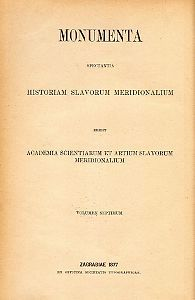 Monumenta spectantia historiam Slavorum meridionalium : Documenta historiae chroaticae periodum antiquam illustrantia=7