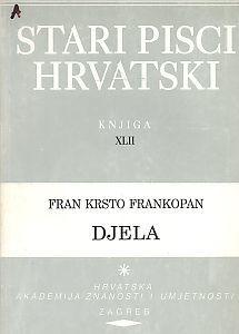 Stari pisci hrvatski : Djela : 42