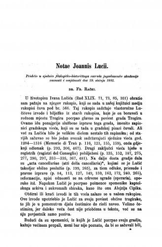Notae Joannis Lucii