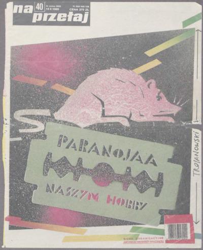 """Litania do Św. Brygidy. [Artykuł Mariusza Szczygła o FMW w """"Na Przełaj"""", nr 40 – red.]."""
