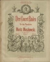 Drei Concert-Etuden : für das Pianoforte : Op. 24. 3, C-dur