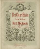 Drei Concert-Etuden : für das Pianoforte : Op. 24. 2, Cis-moll