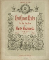Drei Concert-Etuden : für das Pianoforte : Op. 24. 1, Ges-dur