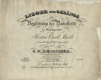 Lieder und Gesänge : mit Begleitung des Pianoforte : Op. 50