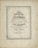Drei Duette : für zwei Singstimmen mit Begleitung des Pianoforte : Op. 15 No 2, Barcarole