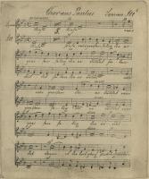 Chor aus Paulus