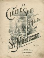 La Cloche du Soir = Dzwonek wieczorny : Melodie pour piano