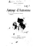Amour d'automne / André Theuriet ; illustrations de S. Macchiati