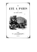 L'été à Paris / par M. Jules Janin