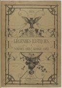 Légendes rustiques / dessins de Maurice Sand ; texte de George Sand