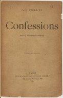 Confessions : notes autobiographiques / Paul Verlaine ; portrait par Anquetin